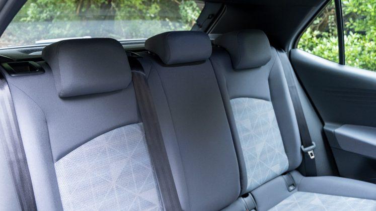 Volkswagen ID.3 rear seats