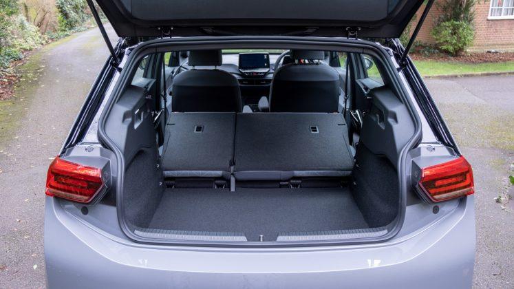 Volkswagen ID.3 seats down