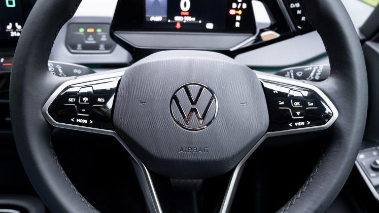 Volkswagen ID.3 steering wheel