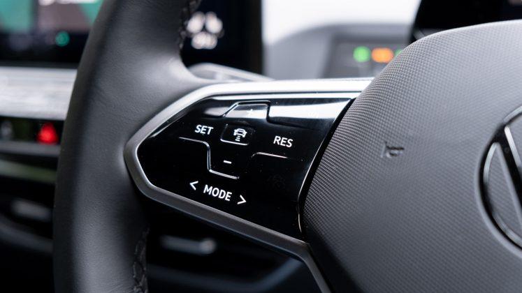Volkswagen ID.3 steering wheel buttons