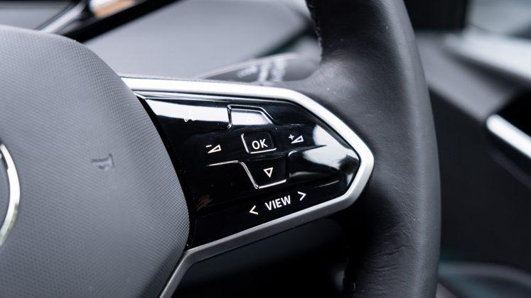 Volkswagen ID.3 steering wheel buttons right