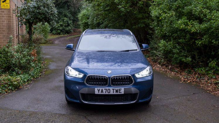 BMW X2 xDrive25e front