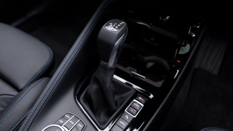 BMW X2 xDrive25e gear selector
