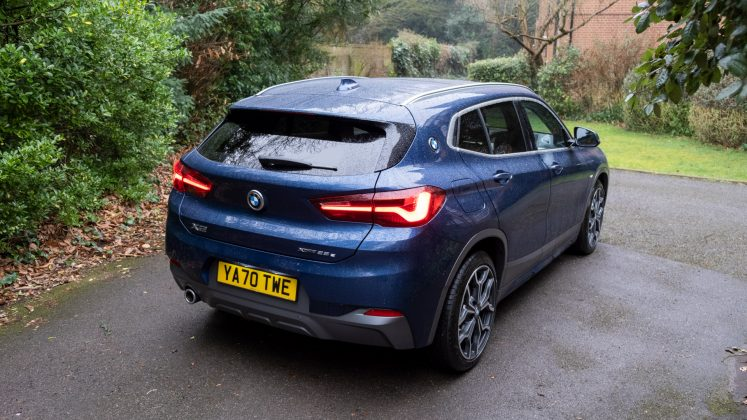 BMW X2 xDrive25e rear