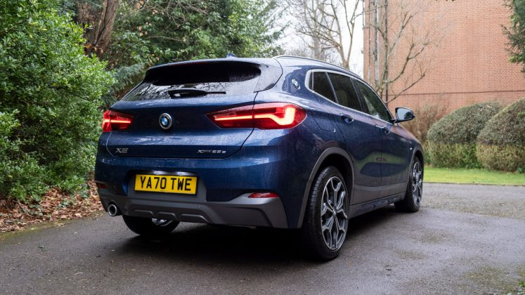 BMW X2 xDrive25e rear bumper