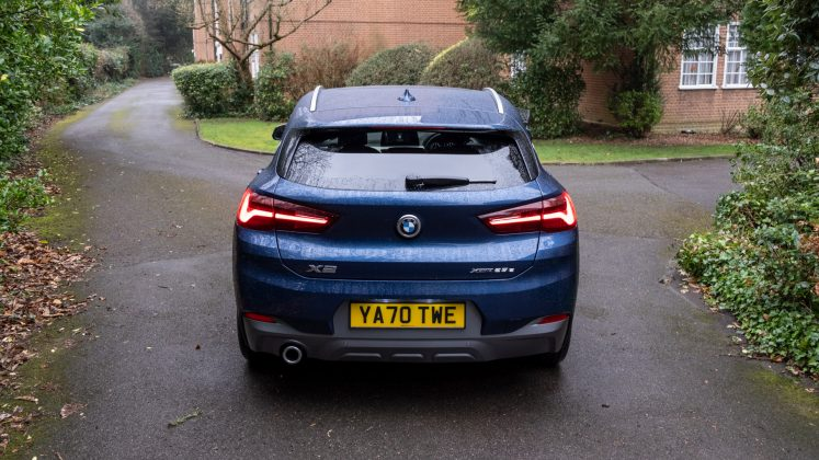 BMW X2 xDrive25e rear look
