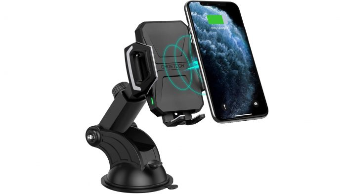 Best wireless charger phone holder Choetech T521-S