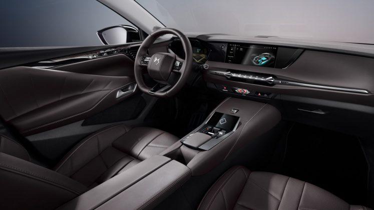 DS 4 interior brown