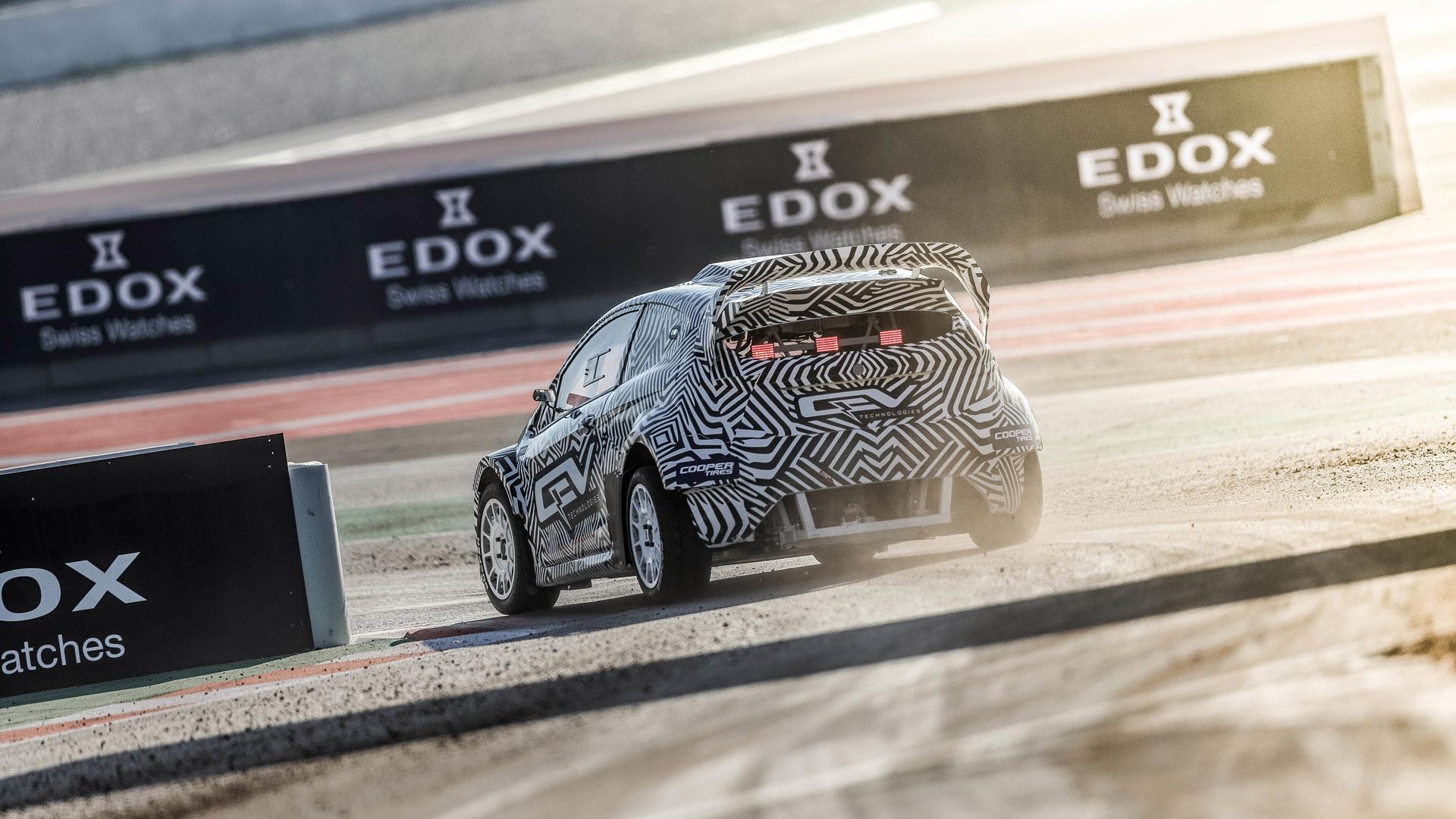 FIA eRX2 drifting