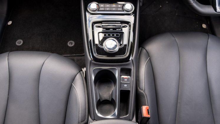 MG5 EV centre console