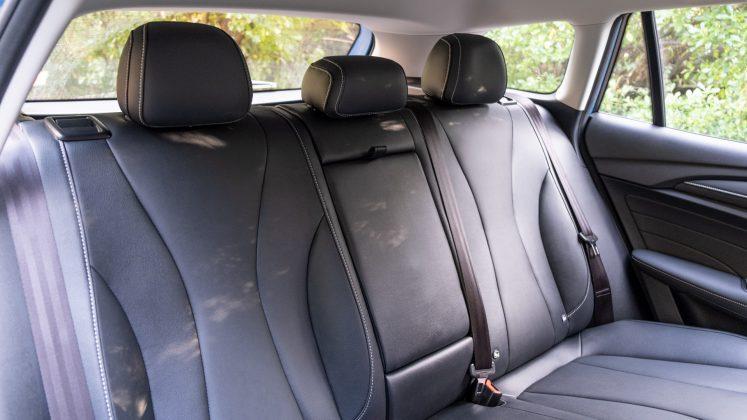 MG5 EV rear seats