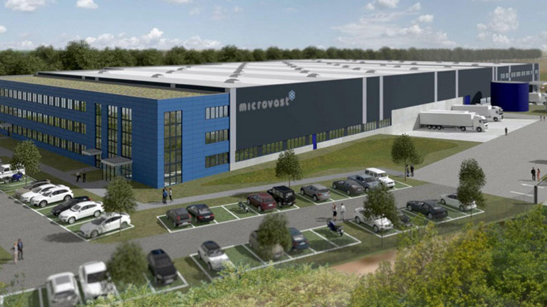 Microvast factory