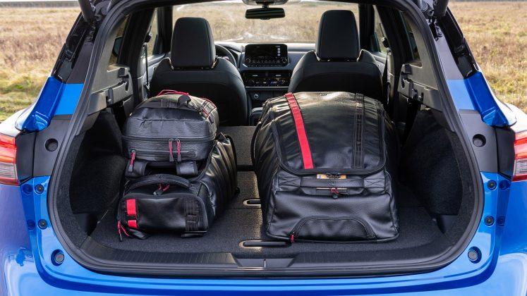 New Nissan Qashqai book capacity
