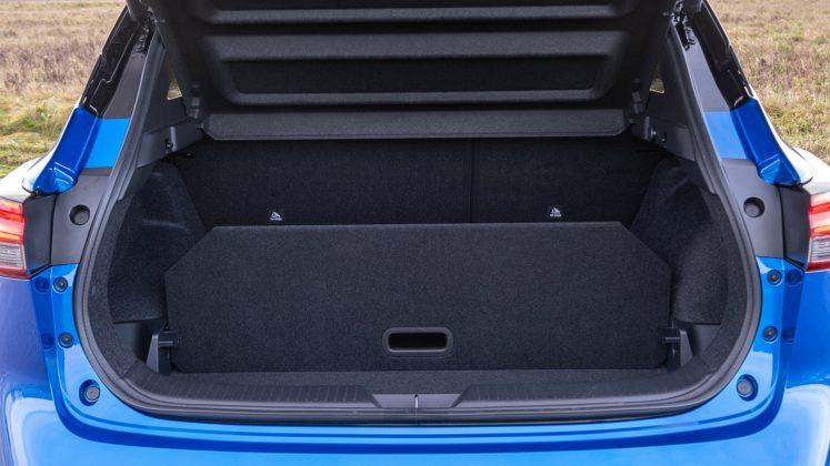 New Nissan Qashqai boot space