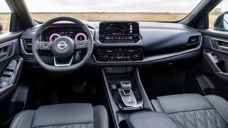 New Nissan Qashqai cabin