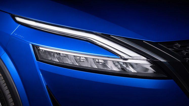 New Nissan Qashqai headlights
