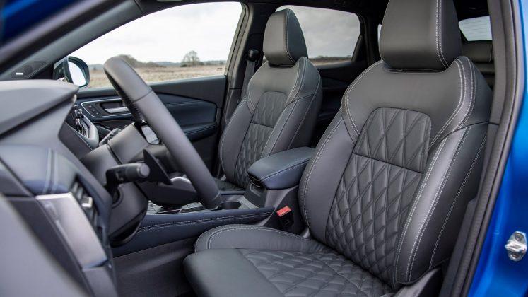 New Nissan Qashqai seats