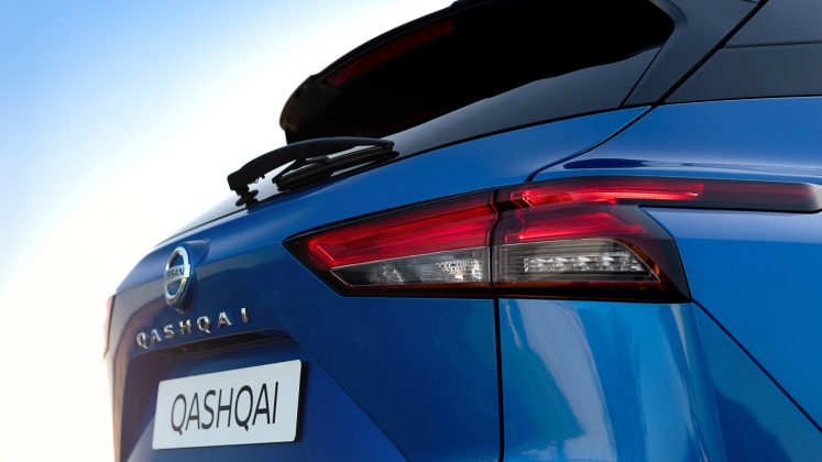 New Nissan Qashqai taillight