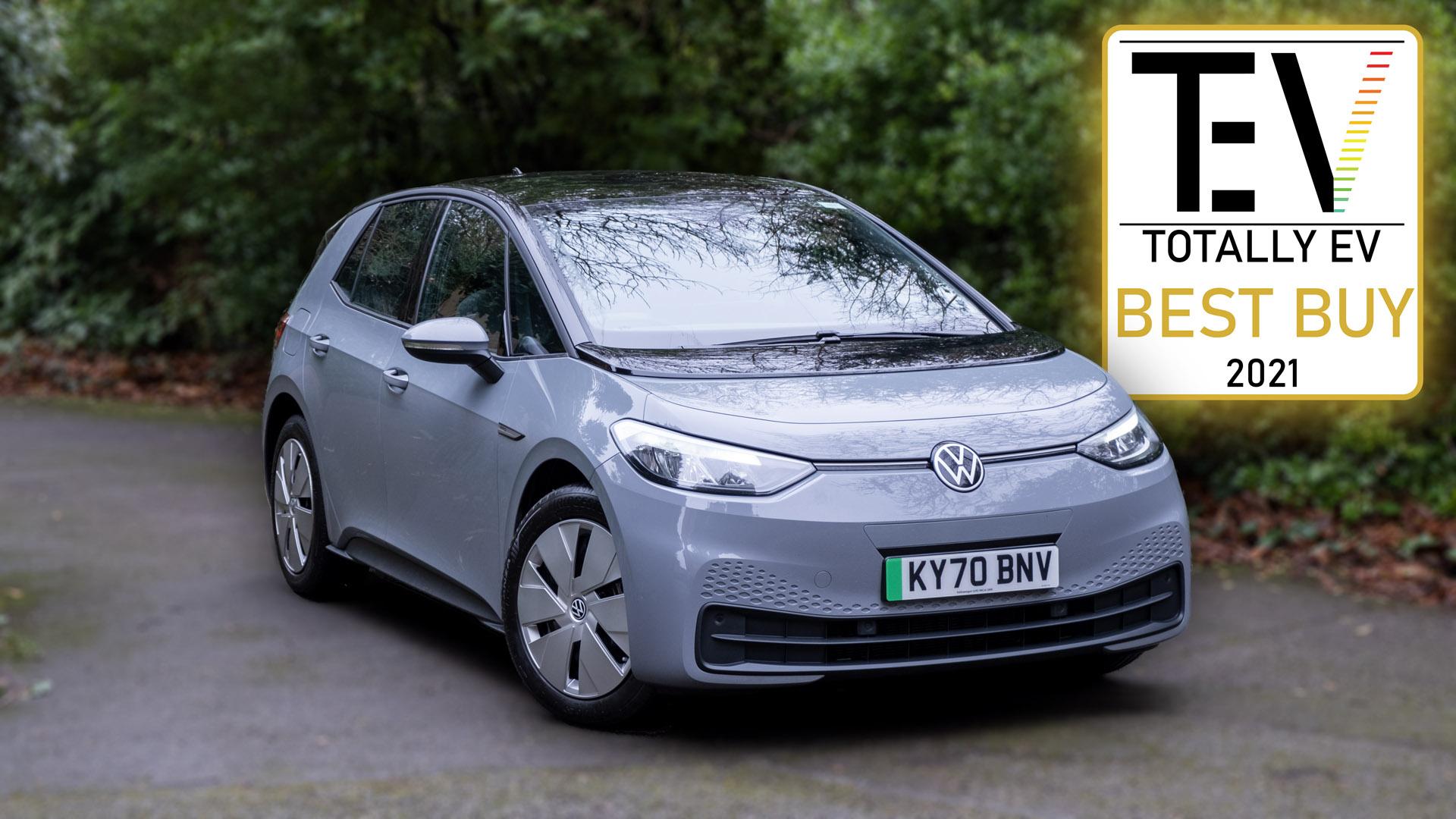 Volkswagen ID.3 review TotallyEV award