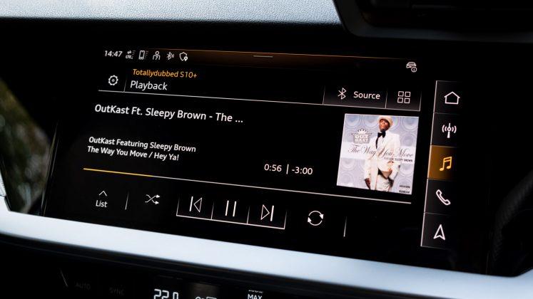 Audi A3 TFSI e media player