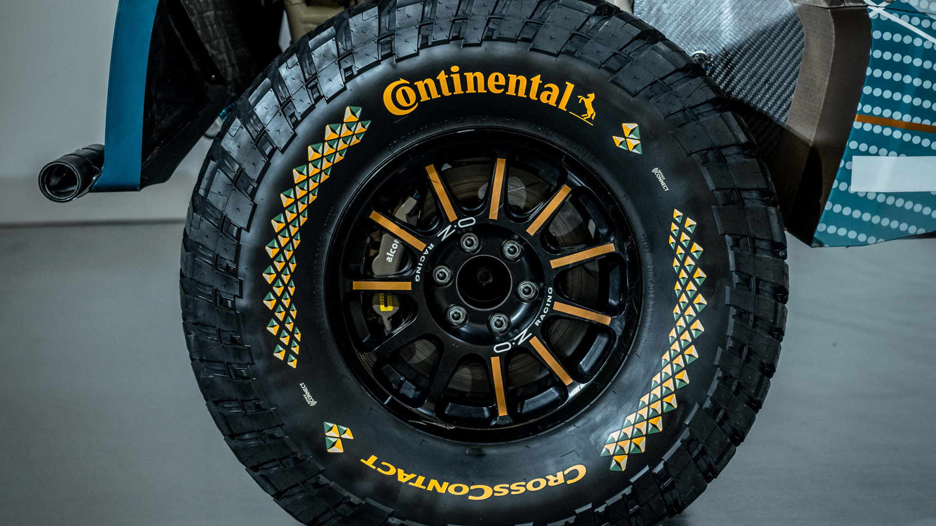 Continental Tyres Extreme E close-up
