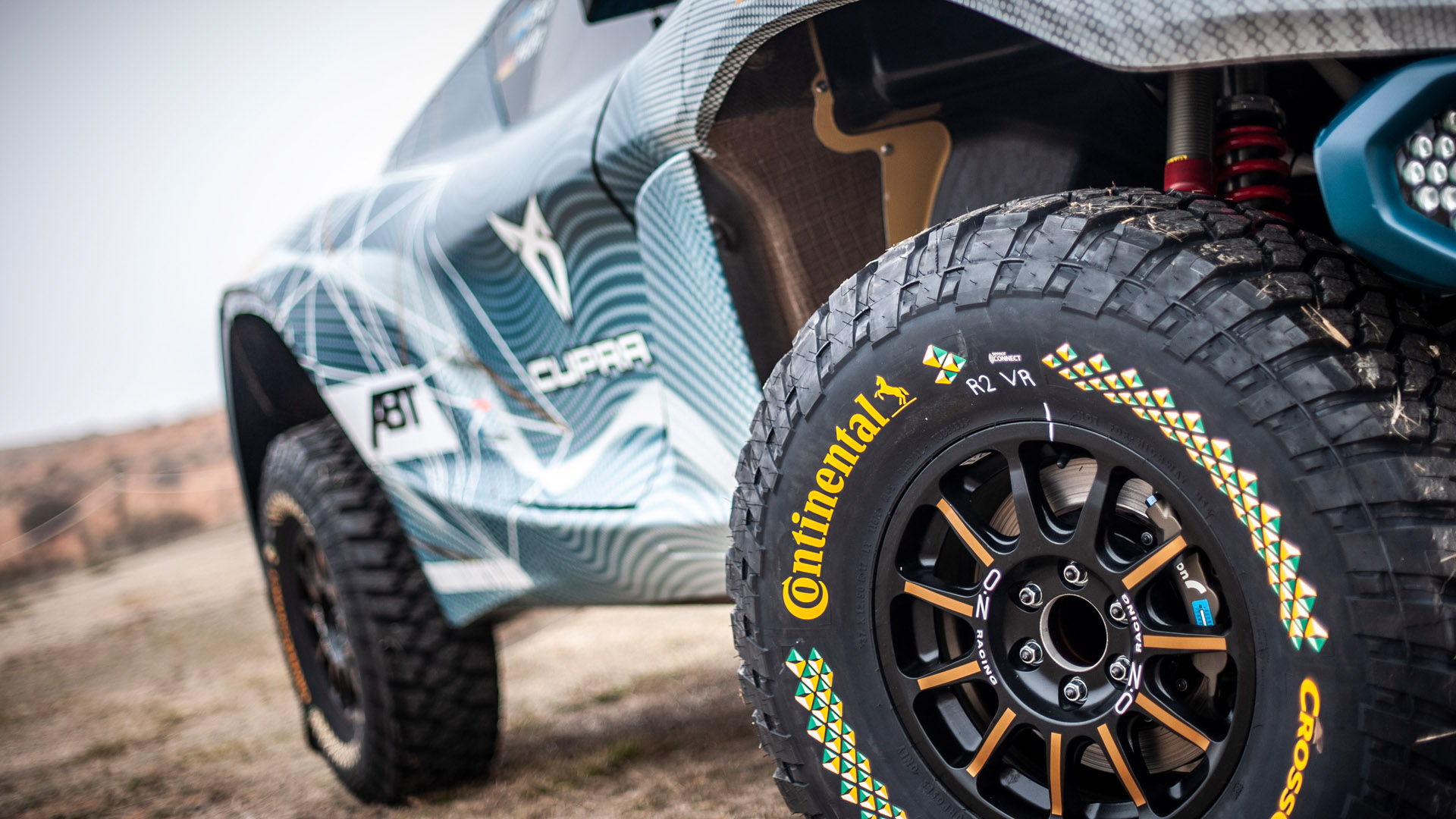 Continental Tyres Extreme E vehicle