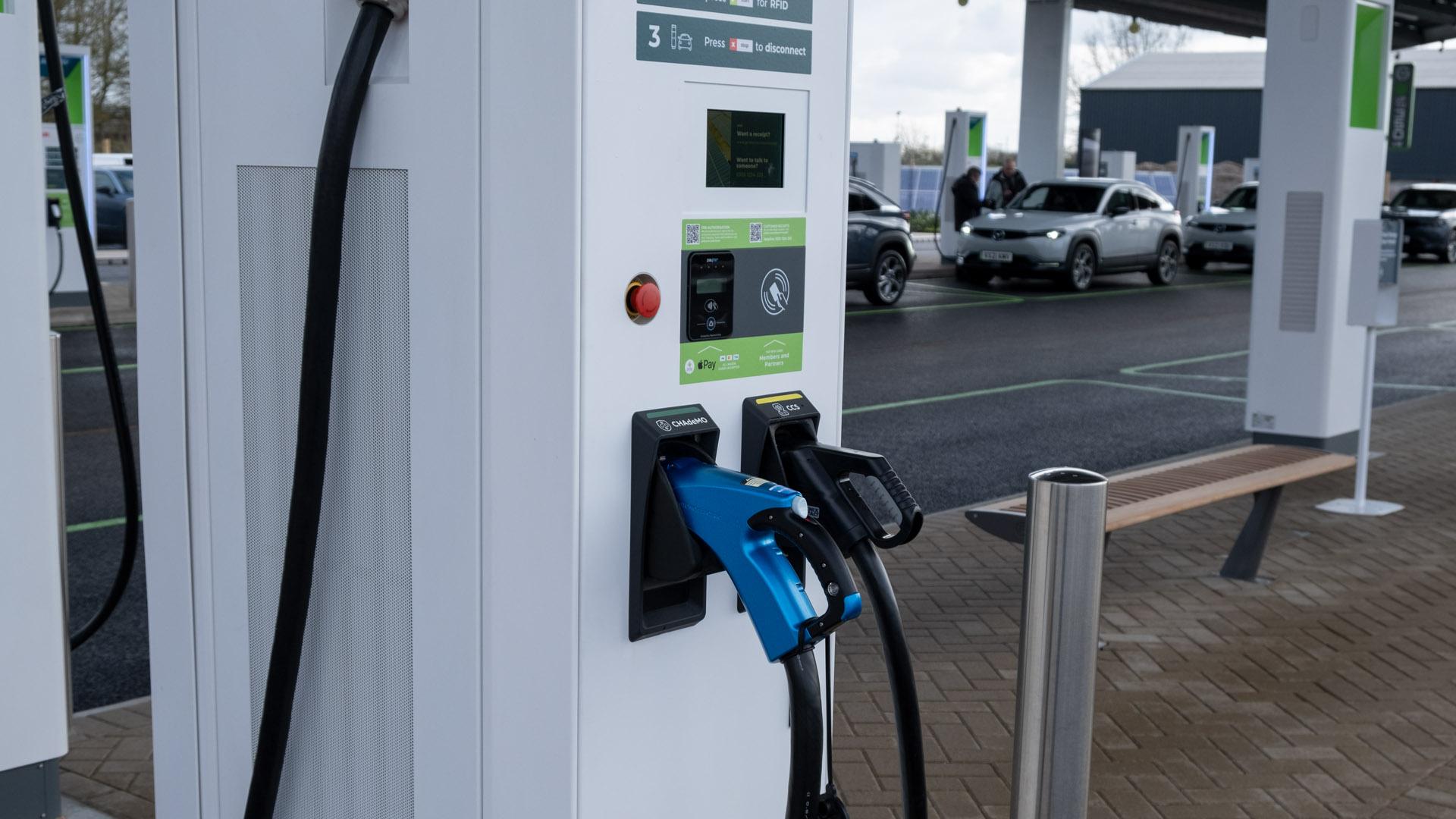 Gridserve EV chargers