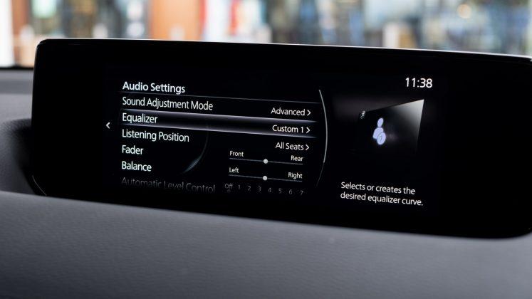 Mazda MX-30 EQ settings