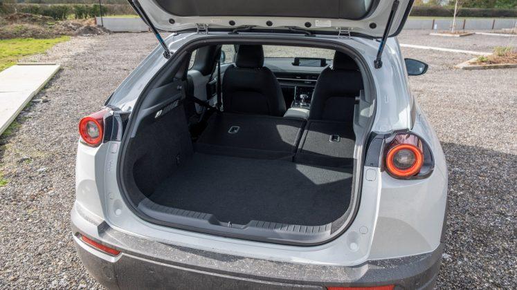 Mazda MX-30 boot capacity