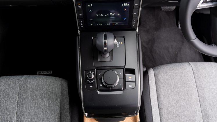 Mazda MX-30 centre console