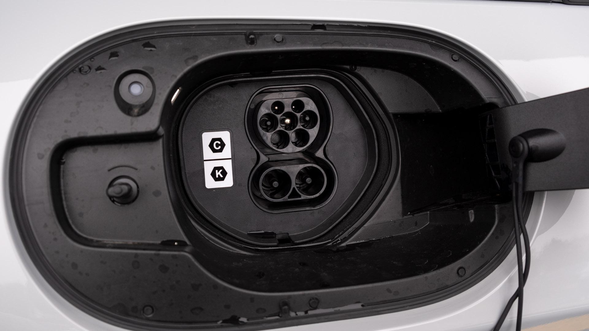 Mazda MX-30 charging connector