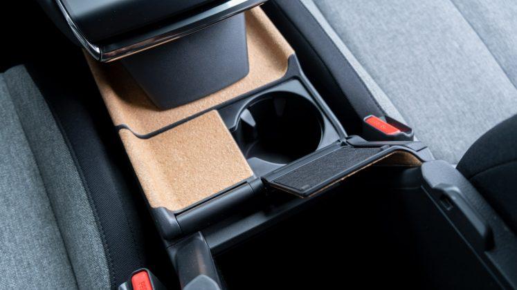 Mazda MX-30 cupholder design
