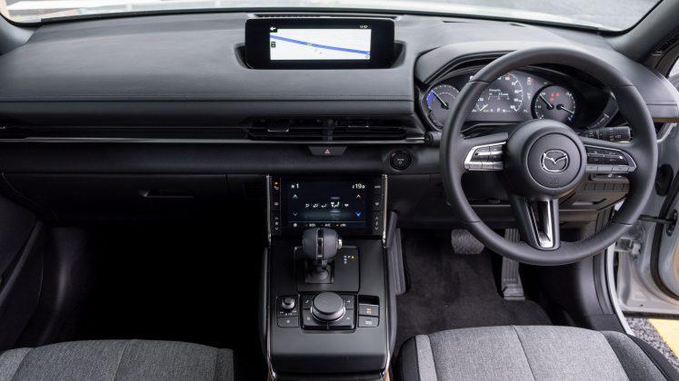 Mazda MX-30 front cabin