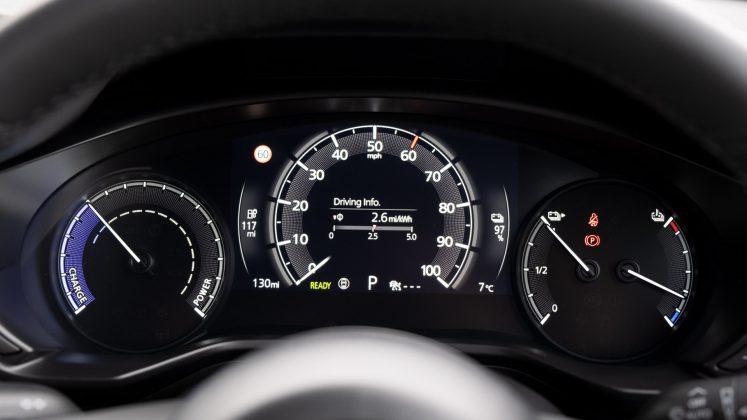 Mazda MX-30 instrument cluster