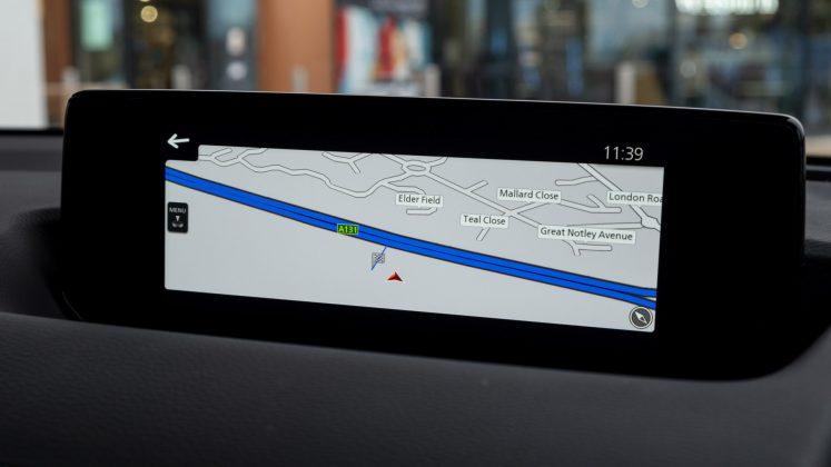 Mazda MX-30 maps