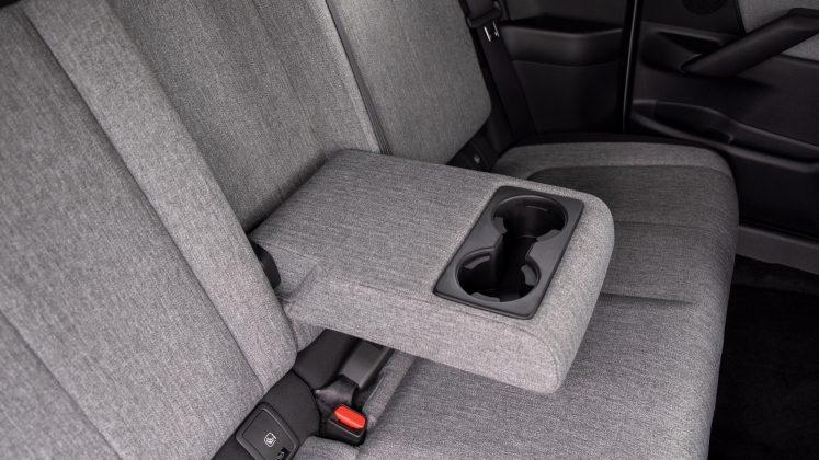 Mazda MX-30 rear seat compartment