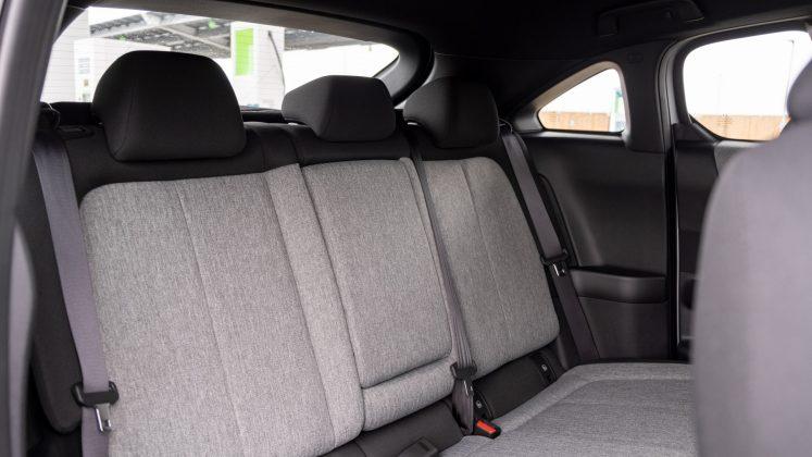 Mazda MX-30 rear seats
