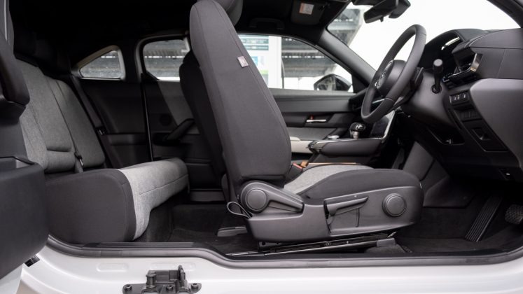 Mazda MX-30 seat design