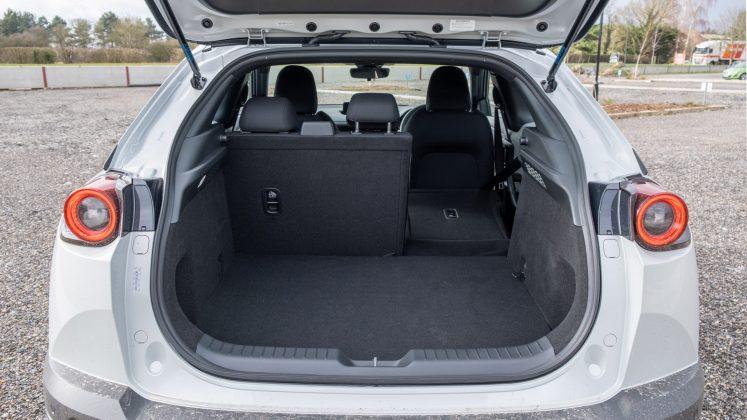 Mazda MX-30 seat down