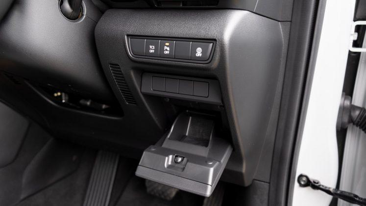 Mazda MX-30 side storage