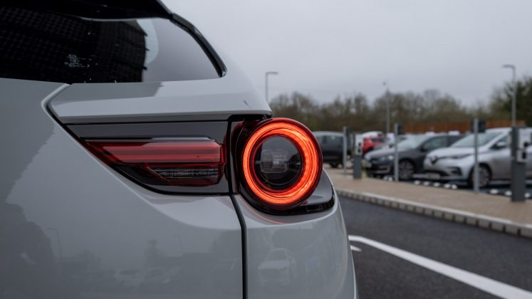 Mazda MX-30 tail lights