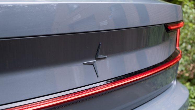 Polestar 2 rear logo