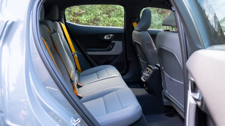 Polestar 2 rear seating