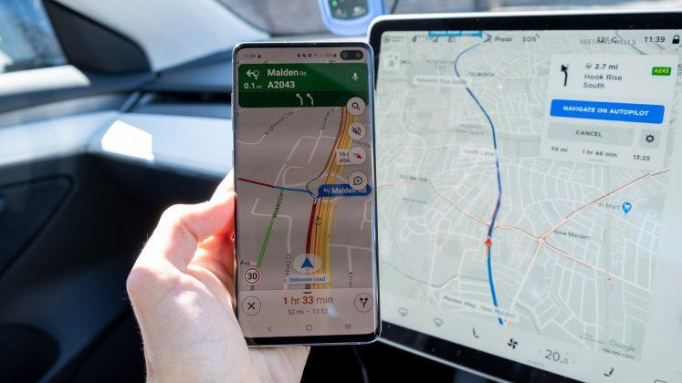 Tesla Maps