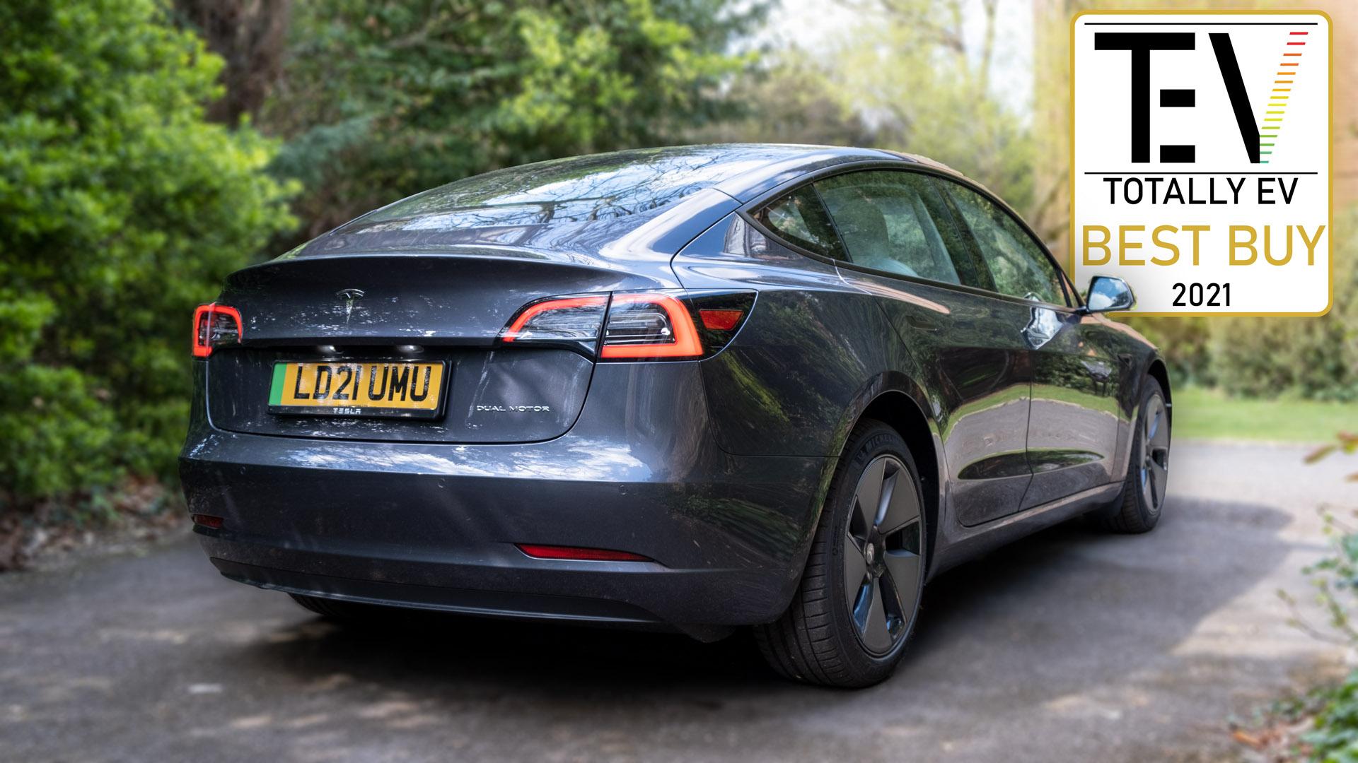 Tesla Model 3 audio award