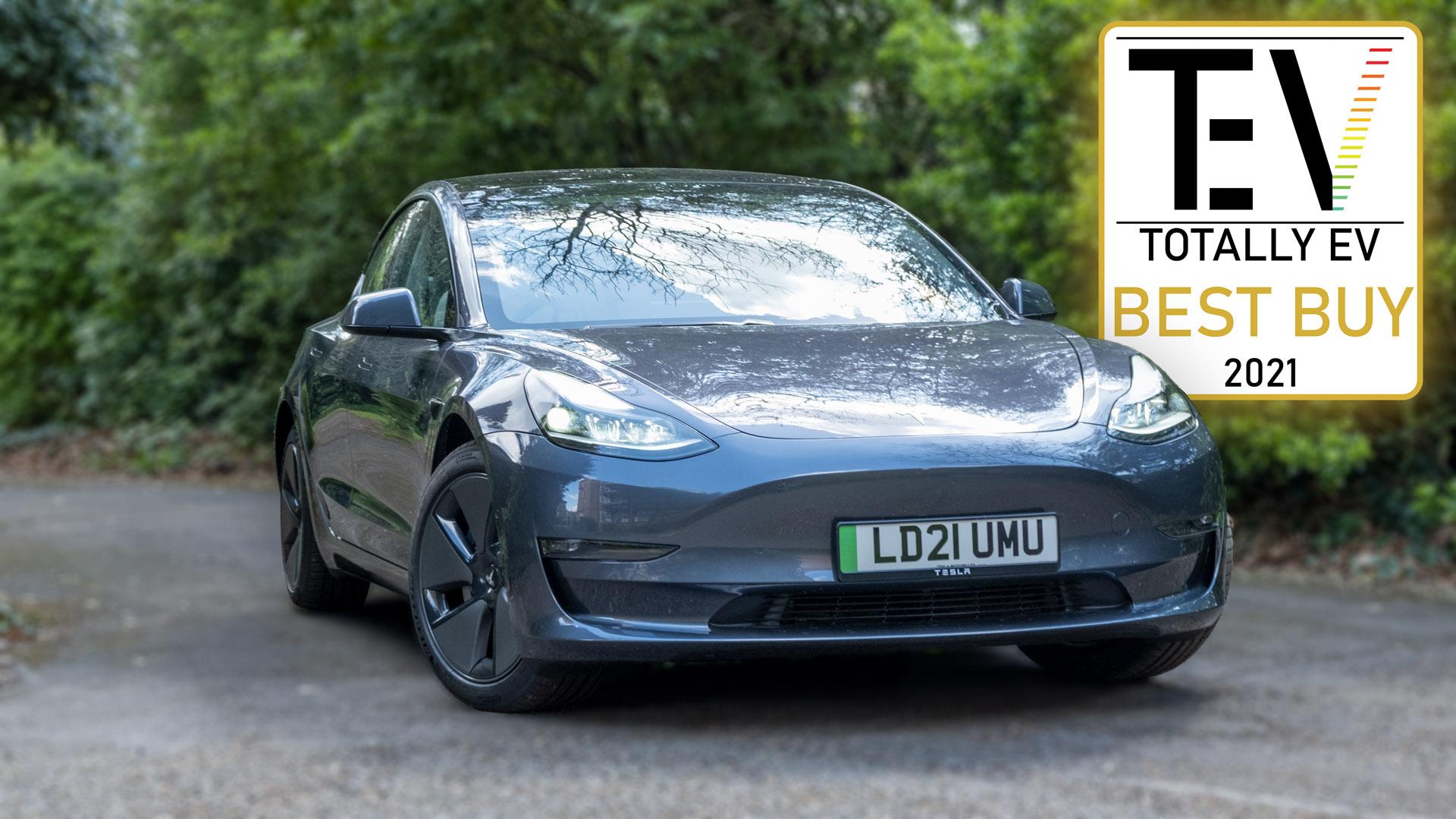 Tesla Model 3 award