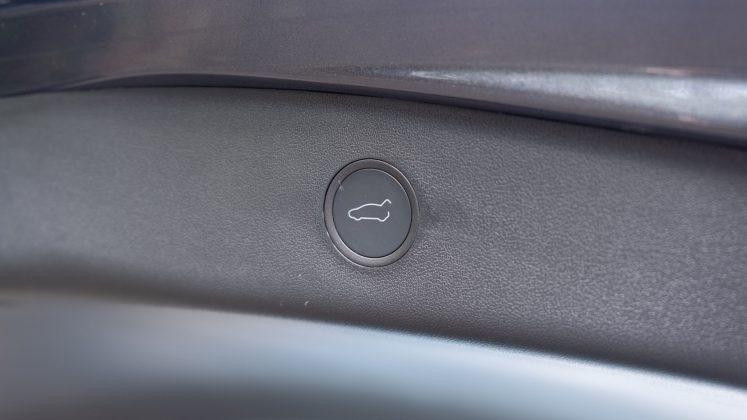 Tesla Model 3 boot button