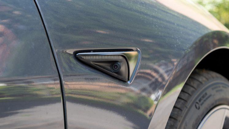 Tesla Model 3 camera