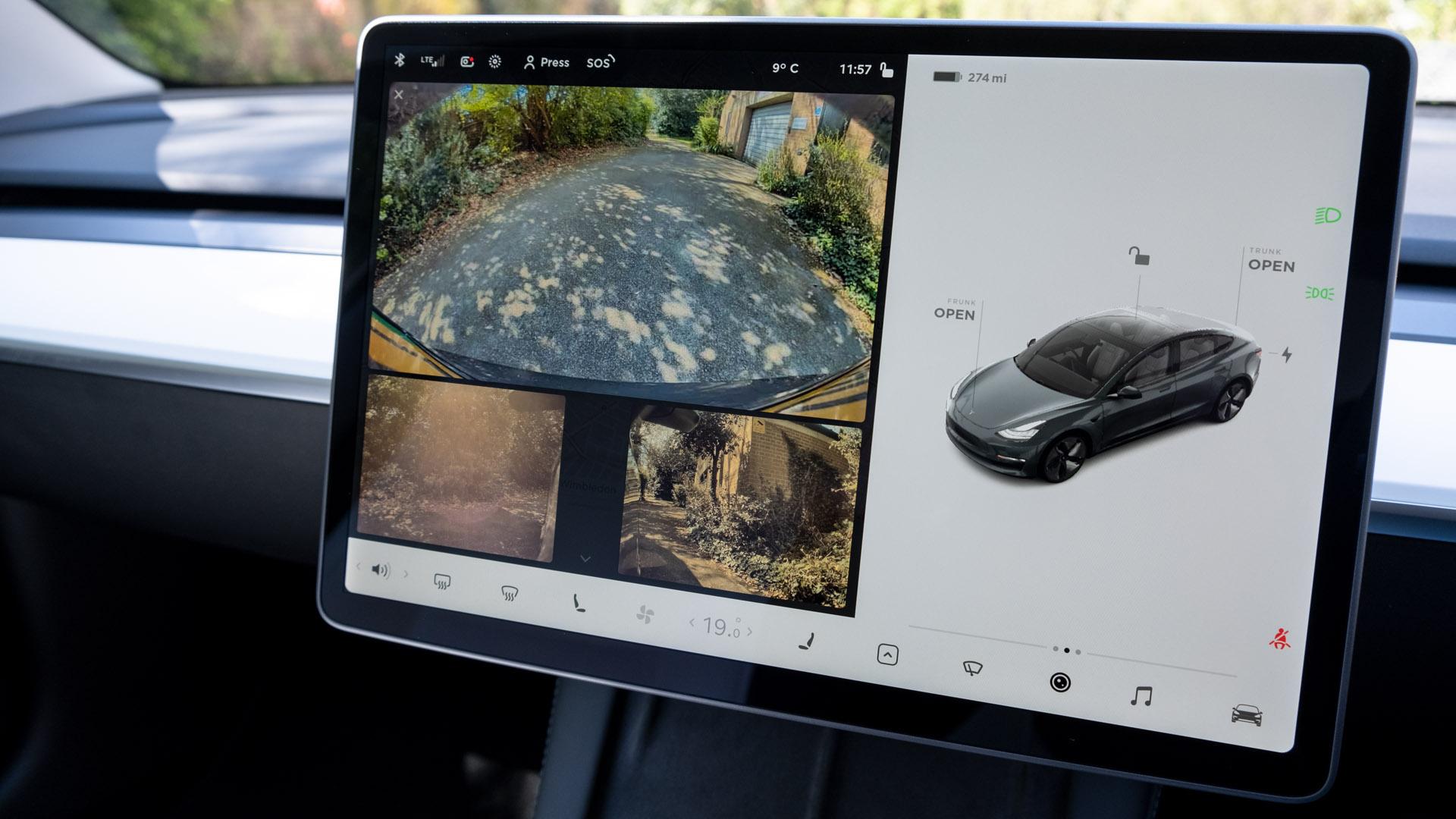 Tesla Model 3 cameras