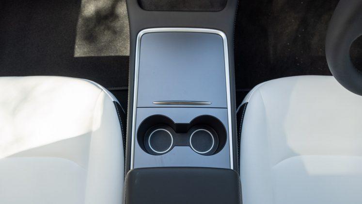 Tesla Model 3 cupholders